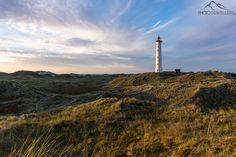 Der Leuchtturm Lyngvig Fyr in Dänemark