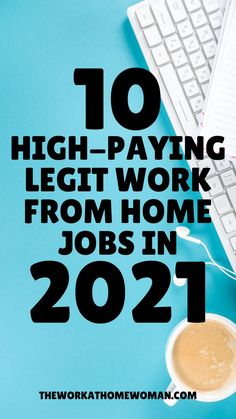 Looking for a legit high-paying work from home job? This list of ideas has you covered! Here are 10 legitimate work from home jobs in a variety of occupations that pay $20 or more per hour! #online #workathome #remote Legit Work From Home, Legitimate Work From Home, Work From Home Tips, Make Money From Home, Way To Make Money, Indoor Water Garden, Job Posting, How To Get Rich, Mom Blogs