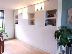Shelving, Bookcase, Closet, Home Decor, Retro, Shelves, Armoire, Shelving Racks, Neo Traditional