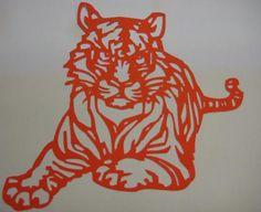 Oriental Tiger papercut | Flickr - Photo Sharing!