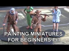 In this video I talk about painting board game miniatures, I take a maniac miniature from Mansions of Madness and take you step by step on the process I use ...
