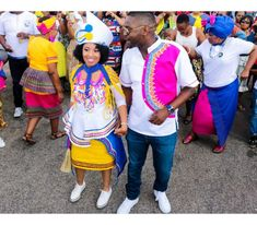 Gorgeous Sepedi Lobola Celebration At Home Pedi Traditional Attire, Sepedi Traditional Dresses, African Traditional Wedding Dress, African Fashion Traditional, Traditional Weddings, African Attire, African Wear, African Fashion Dresses, African Dress