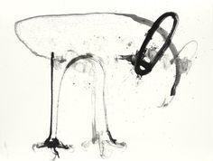 Bill Logan: OWL #191. Ink on paper, 2013.