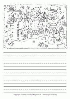 Seasonal Story Paper for Kids