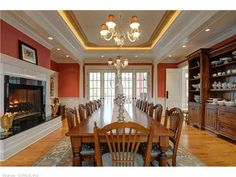 Dine and keep warm by this fireplace. http://blog.juliabfee.com/2014/11/keep-the-home-fires-burning/