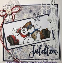 Kirstens Hobbyblogg: Juleklem fra disse to....