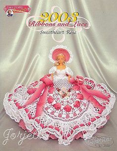 Sweetheart Rose, Annie's Ribbons & Lace Collection crochet patterns