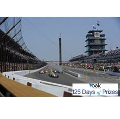 Start your engines and be the first to cross this finish line! Enter now for an all inclusive Izod VIP Race Package for two at the Indy 500® worth $3,500! #belk125