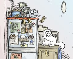 FUNNY CAT:    Simons cat....hilarious drawn videos of...well, Simon and his funny cat.