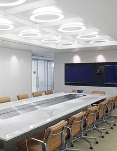 conference room with Herman miller Eames soft pad chairs #meetinginindia #meetingroom #meeting