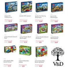 Nu bij Vroom & Dreesman: Duplo & LEGO korting 15% bij V&D.Profiteer nu van 15% korting op LEGO en Duplo zoals LEGO City, LEGO StarWars, LEGO Technic... #LEGO #Duplo #sinterklaas #speelgoed