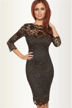 Amy Childs Lacey Black