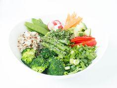 Happy Frühlings-Bowl - grün, frisch und gesund!