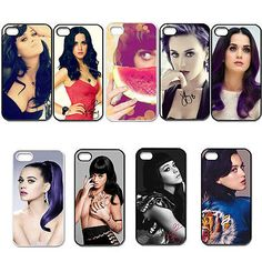 Pop Singer Katy Perry For iPhone 4 4S 5 5G 5S 5C Hard Plastic Case Back Cover[snap on 5,For iPhone 4 4S]