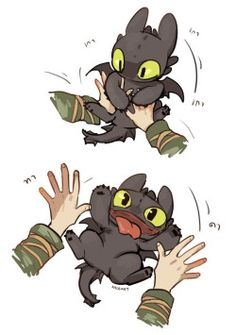 Hiccup and Toothless ^.^ <3