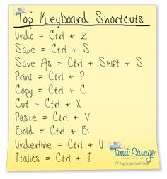 keyboading shortcuts-this is one great one i chose because it really is a keyboarding shortcut because it wilkl help you in the long run