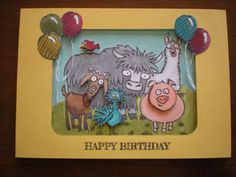 Party Animals by fesearle - Cards and Paper Crafts at Splitcoaststampers