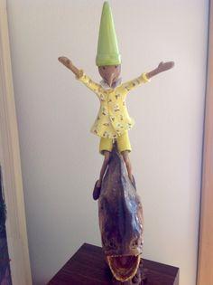 Pinocchio papermache'di margot