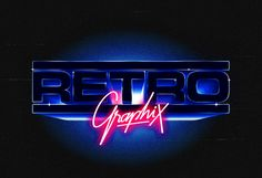 80s Logo Collection by Over Glow