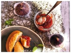 Turkish fig jam with vanilla simple recipe l Oriental marmalade Healthy Eating Tips, Healthy Nutrition, Keto Protein Powder, Jalapeno Recipes, Ketosis Fast, Fig Jam, Vegetable Drinks, Marmalade, New Recipes
