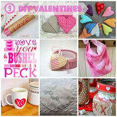 Sew Sweet Vintage: 9 DIY Valentines Diy Recycle, Recycling, Different Holidays, Groundhog Day, Valentine Day Crafts, Cupid, Fun Crafts, Diy Projects, Sewing