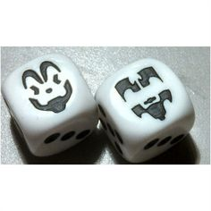 Insane Clown Posse Custom Engraved Dice PAIR, d6, six sided, ICP Listing in the Dice & Dice-Based Games,Games,Toys & Hobbies Category on eBid United States | 124063937