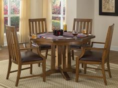 Arts and Crafts Game Table in Oak
