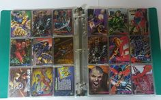 300+ 90'smarvel trading cards with binder and sleeves | Collectibles, Non-Sport Trading Cards, Trading Card Singles | eBay!