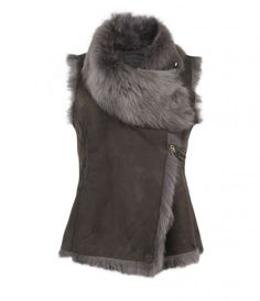 Shearling Vest.. Perfect fall cover