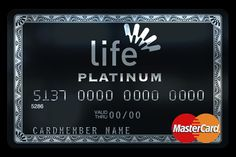 Platinum credit card with silver hot stamping logo. Credit Card Design, Member Card, Elegant Business Cards, Plastic Card, Credit Card Offers, Credit Cards, So Little Time, Card Designs