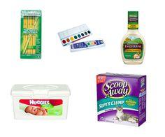New Coupons: Hidden Valley, Huggies, Scoop Away   School Supplies!
