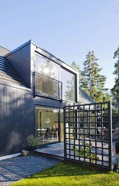 En lite annorlunda version av takkupa som ger mycket extra utrymme och ett speciellt utseende på huset.