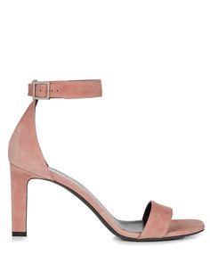 Grace suede sandals   Saint Laurent   MATCHESFASHION.COM UK