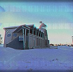 I really liked this one#speciaali #90s #vhs #glitch #pikkulahti #raahe #beach #ranta #winter #snow #potd #valokuvaus