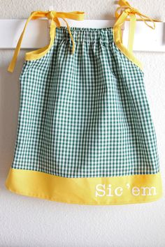 Baylor Bears Pillowcase dress