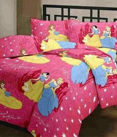Fairy Princesses 100 % Cotton Bedsheet
