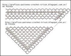 PATRONES=GANCHILLO = CROCHET = GRAFICOS =TRICOT = DOS AGUJAS: PONCHOS