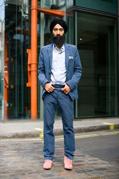Fashion designer, Actor and some time muse, Waris Ahluwalia - Street Aesthetic
