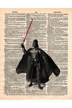 Me: Dark Lord Dictionary Print
