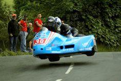 Isle Of Man flying sidecar