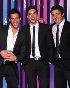 Dan, Lincoln and Steve (Heath, Casey and Brax)