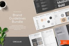 THE MINIMALIST / Bundle Pack by Circular on @creativemarket  #sponsored #brochure #template #design #art #indesign #graphicdesign