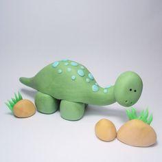 Dinosaur Trio Cake Topper Set for Dinosaur por SweetTouchDecor