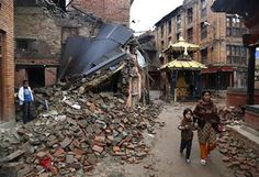 KATHMANDU, Nepal (AP) — The structural engineer strides through Kathmandu's old city, past buildings reduced to rubble, buildings whose facades are cracked in dozens of places, li Nepal, Old City, Destruction, Manish, Facade, Photos, Street View, Architecture, Arquitetura