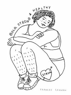 Frances Cannon's Body Positive Coloring Book Is The Next Step In Self Love Illustration — PHOTOS