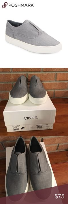 VINCE. Nelson pale denim NWB size 7.5 New with box – price is firm Vince Shoes Sneakers
