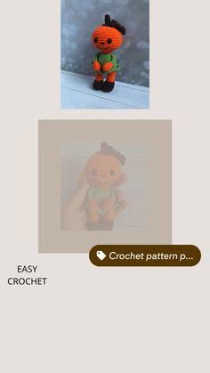 Learn To Crochet, Diy Crochet, Crochet Toys, Crochet Ideas, Plush Pattern, Crochet Doll Pattern, Crochet Patterns, Pdf Patterns, Amigurumi Patterns