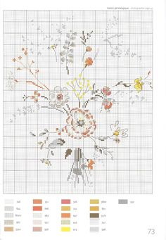 """Photo from album """"Creation Point de Croix on Yandex. Cross Stitching, Cross Stitch Embroidery, Embroidery Patterns, Just Cross Stitch, Cross Stitch Flowers, Cross Stitch Designs, Cross Stitch Patterns, Cross Stitch Collection, Sewing Crafts"""