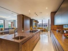 A statement of luxurious contemporary living Kitchen Confidential, Contemporary, Mirror, Luxury, Furniture, Home Decor, Decoration Home, Room Decor, Mirrors