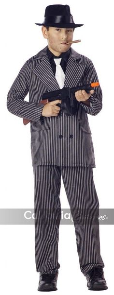 Gangster Boy's Costume